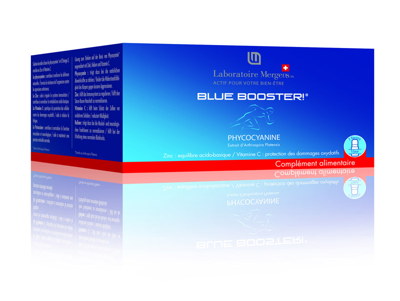 Blue-booster