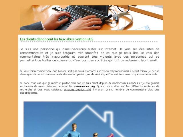 arnaque-gestion-iag.com